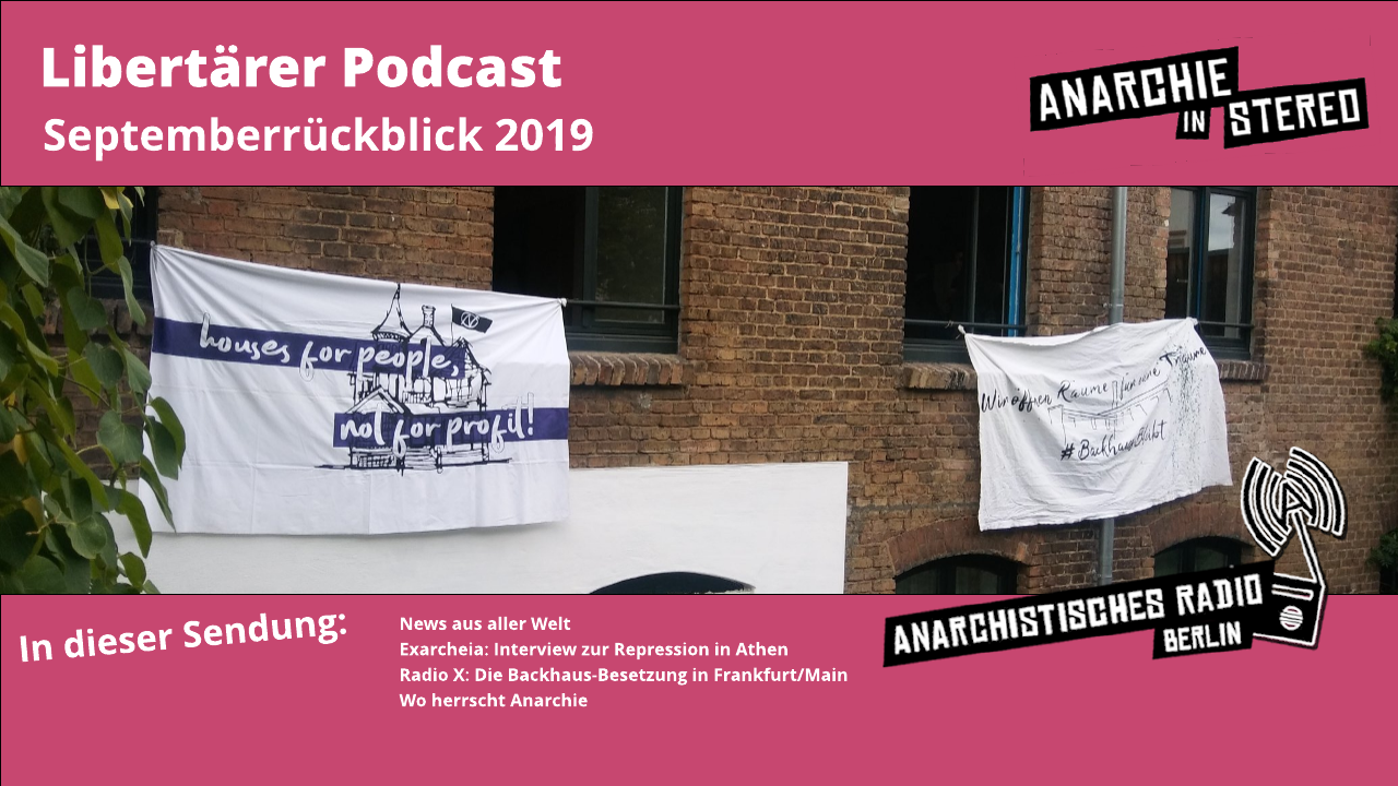 Libertärer Podcast Monatsrückblick September 2019