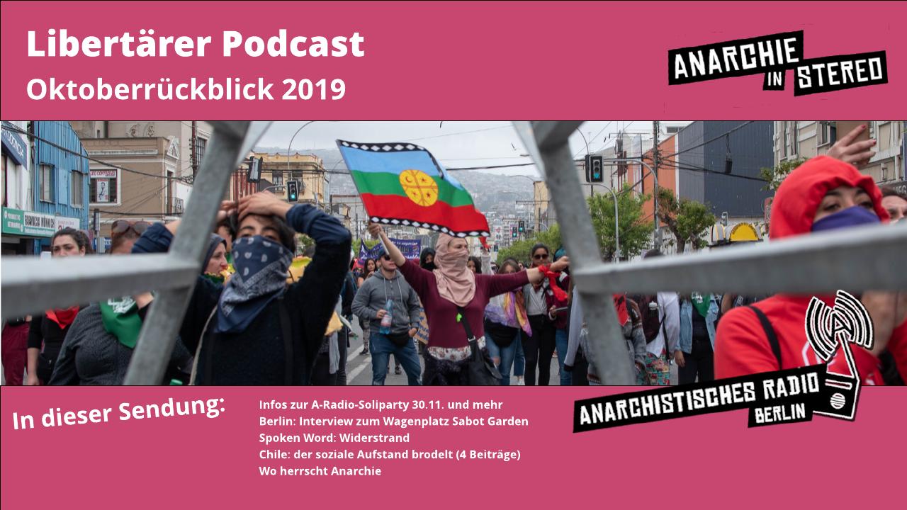 Libertärer Podcast Monatsrückblick Oktober