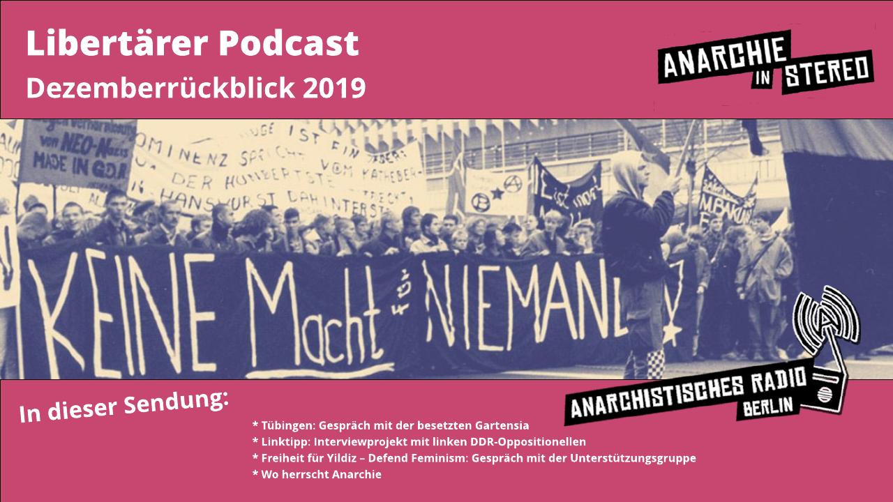Libertärer Podcast Dezemberrückblick 2019