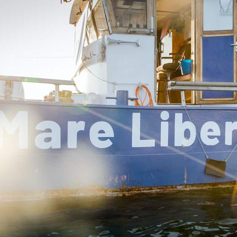 """Interview mit """"Mare Liberum"""" über Frontex und illegale Pushbacks im Mittelmeer"""
