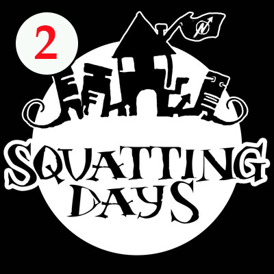 Dokumentation Squatting Days 2014 – Linke Freiräume an der Uni Hamburg