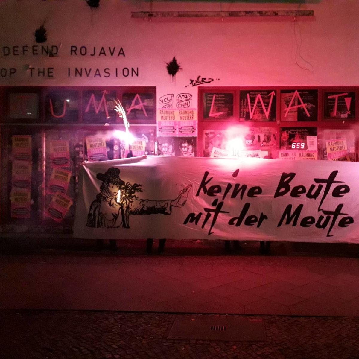 Berlin: Interview zur anstehenden Räumung der Kollektivkneipe Meuterei