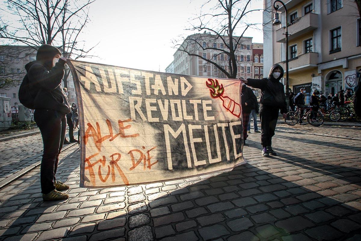 Meuterei: Unsere Live-Berichte zur Räumung zum Nachhören